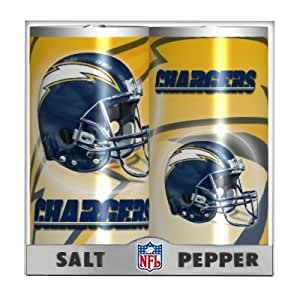 Nfl San Diego Chargers Salt And Pepper Game Day Shakers