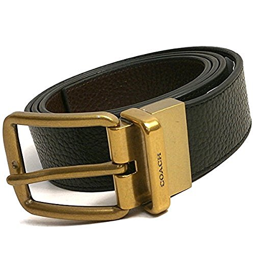 7838609414 Coach Modern Harness Cut-to-Size Reversible Signature Leather Belt