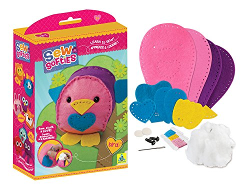 Softie Bird (The Orb Factory Sew Softies Bird Building Kit)