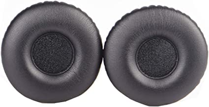 1 Pair Headphone Replacement Earpads Ear Pads Protein Skin Earbuds Soft Cushion Replacement for QC15 QC2 QC25 QC35 RGBIWCO
