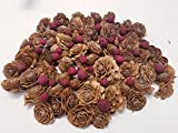 Cedar Rose Pine Cones and Berries - Perfect for Potpourri, Bowl Fillers, Home Decor, Crafting - Can be used in all Seasons, Best for Fall and Winter