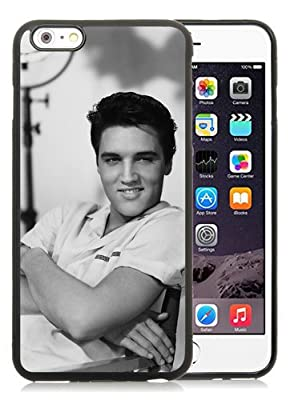 iPhone 6 Plus Case,Elvis Presley 1 Black Cover Fit For iPhone 6S Plus 5.5 Inches,TPU Case