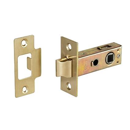 Access Cerradura embutida para puerta, pestillo tubular con tornillo