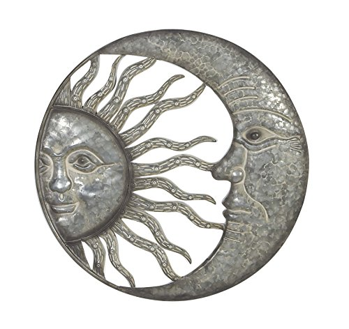 Deco 79 76972 Sun and Moon Wall Decor 20