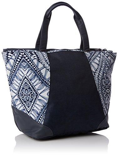Sun B H Curl Rip Mayan cm femme x Bag sac 22x30x48 Navy Blau T de et Shopping Tissu plage qZfETnrZw