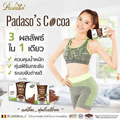 Padaso's Cocoa Diet Slimming Bern Block Fat Loss Weight Brightening Skin