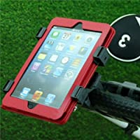 Adjustable Quick Fix Golf Trolley / Cart Tablet Mount for Apple iPad Mini, iPad 2 / 3 / 4th Gen