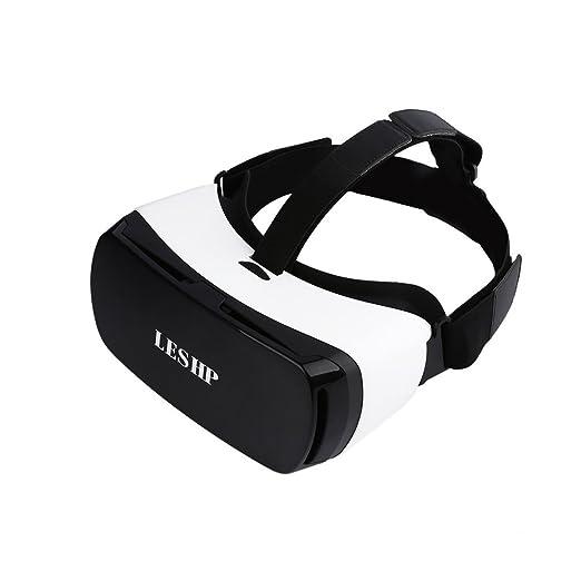 11 opinioni per LESHP- Occhiali VR 3D con Bluetooth Compatibile con Pollici 4.5-5.5 per Film