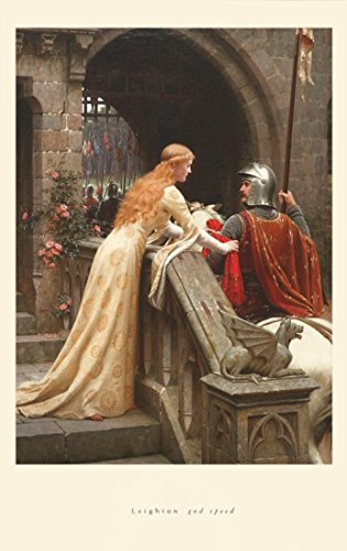 "/""The Dedication/"" by Edmund Blair Leighton Poster in 5 Sizes"