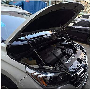 L/&U 2pcs Frente del Coche del Capo de la Capilla Gas Strut Ascensor Admite Struts Varillas de Gas Amortiguadores para Nissan Qashqai J11 2014-2018
