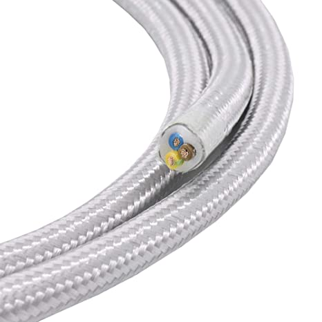 Cable de tela, 3 hilos, 0,75 mm2, cable de tela para ...