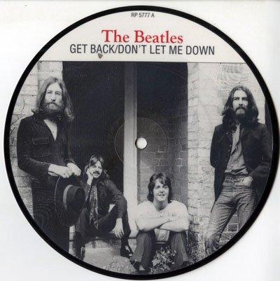 Get Back / Don't Let Me Down (picture disc) (Get Back Don T Let Me Down)