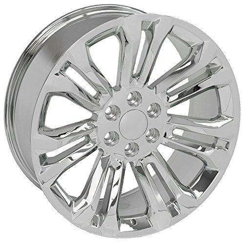 Amazon Com Oe Wheels 22 Inch Fit Chevy Silverado Tahoe Gmc Sierra
