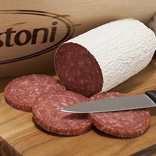 Battistoni Artisan Sweet Italian Salami with Wine, 10oz