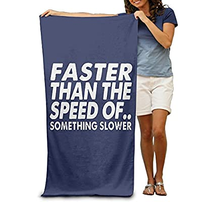 ShanxianP Faster Than The Speed Of Soft Absorbent Beach Towel Pool Towel 3050