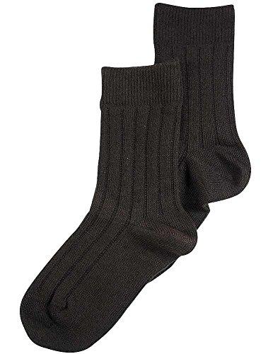 Tic Tac Toe - Little Boys Dress Sock, Espresso 36998-Small