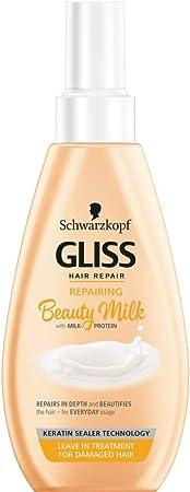 Schwarzkopf Gliss - Proteína de leche para reparar el cabello (150 ml)
