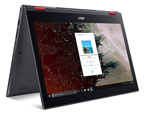 Acer Nitro 5 Spin NP515-51-58VP, 15.6 Full HD Touch, 8th Gen Intel Core i5-8250U, GeForce GTX 1050, Amazon Alexa Enabled, 8GB DDR4, 256GB SSD, 1TB HDD, Convertible