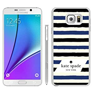Note 5 case,Kate Spade 34 White Samsung Galaxy Note 5 cover