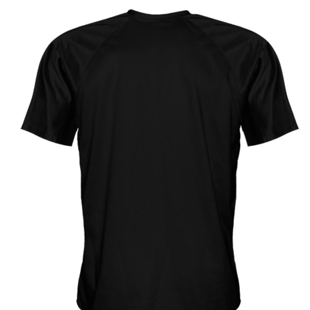 LightningWear Youth Marine Corps Shirt Gray Logo Black Marine Shirt Youth Black