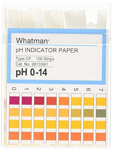 - Whatman 1219G59PK 2613-991 Indicator, 0-14 pH (Pack of 100)