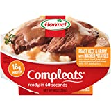 HORMEL COMPLEATS Microwave Meals - Shelf Stable  - Roast Beef and Mashed Potatoes - 9 Ounce (6 Pack)