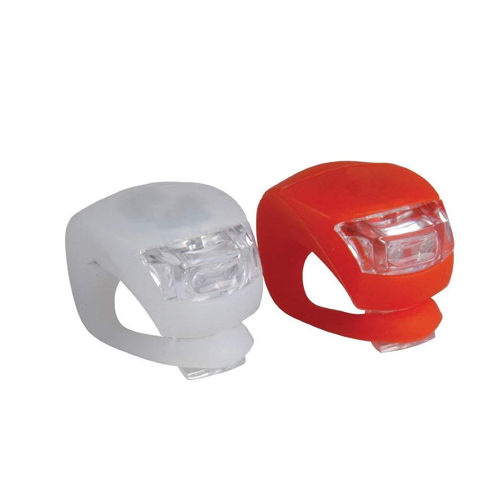 Aofocy Luz de Bicicleta - Kits de Luces de Destino para Bicicletas con diseñ o de liberació n de la Correa sú per Brillante para Luces de Bicicleta Delanteras y traseras