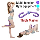 Rokment Thigh Master Leg Muscle Fitness(Anti-slip) Butt Thigh Trimmer Exerciser Multi-function Home Fitness Sport Gym Equipment