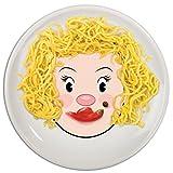 Genuine Fred MRS. FOOD FACE Kids' Ceramic Dinner