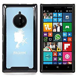 SKCASE Center / Funda Carcasa protectora - Frozen Princesa;;;;;;;; - Nokia Lumia 830