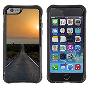 Suave TPU GEL Carcasa Funda Silicona Blando Estuche Caso de protección (para) Apple Iphone 6 / CECELL Phone case / / Sunset Beautiful Nature 77 /
