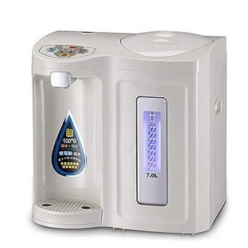 Dispensadores De Agua Caliente Hervidor Eléctrico Consola Inteligente Protección Del Medio Ambiente Salud Ahorro De Energía Seguridad Barriles Dobles 5L + ...
