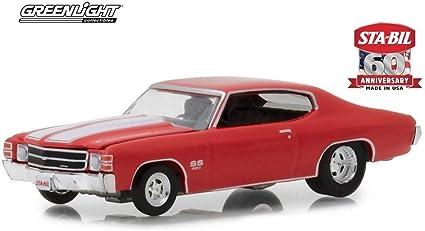 Chevrolet Chevelle SS rojo año de fabricación 1970 escala 1:64 de GreenLight