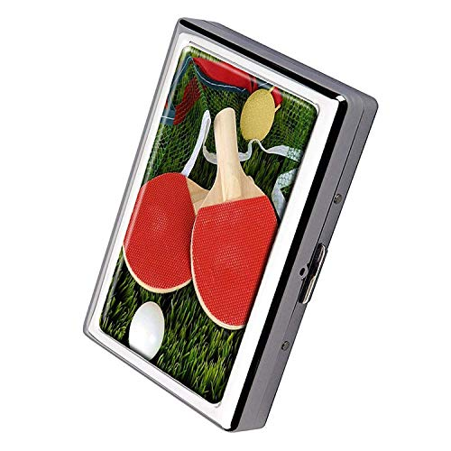 - CYCY Indoor/Outdoor Natural Easy Clean Doormat Tennis Rackets Design Cigarette Case Business Card Holder Stainless Steel Case Silver Metal Wallet Protection