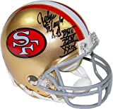 NFL San Francisco 49ers John Taylor Signed Mini Helmet with ''SB XXII XXIV XXIX'' Inscribed
