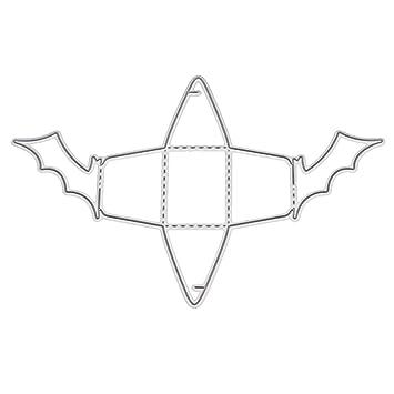 Qiman - Caja de Metal para Caramelos, para Cortar, Plantilla, Bricolaje, álbum de Recortes, Sello, Tarjeta de Papel en Relieve, artesanía, ...