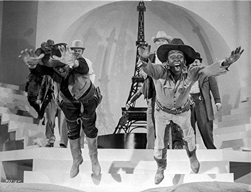 A scene from Blazing Saddles Photo Print (10 x 8)