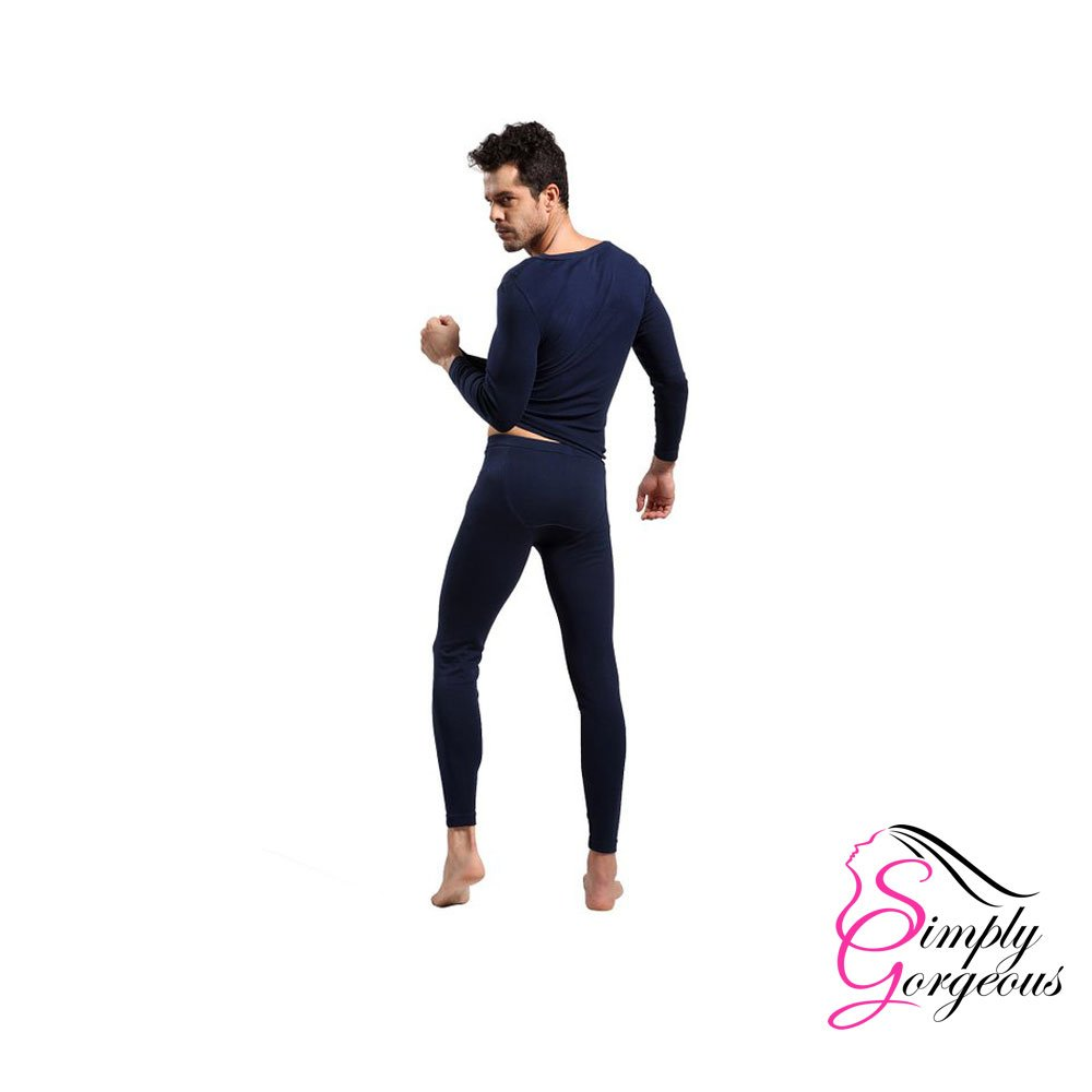 Mens 2 Piece Long Thermal Underwear Set Simply Gorgeous