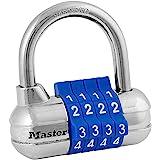 Master Lock 1523D Set Your Own Combination Cadlock, 1 pacote, a cor pode variar, azul