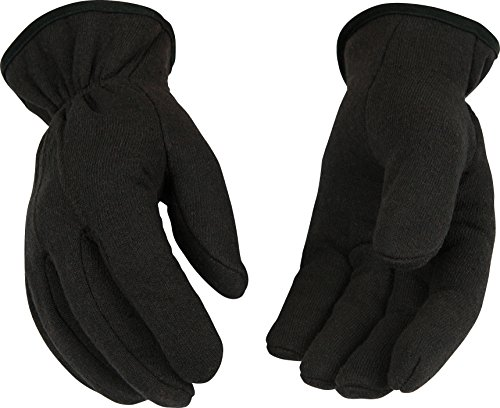 - Kinco 820RL Lined Jersey Glove, Work, Large, Brown (Pack of 12 Pairs)