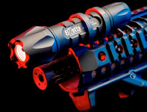 Elzetta ZRX Tactical Flashlight Mount - Black