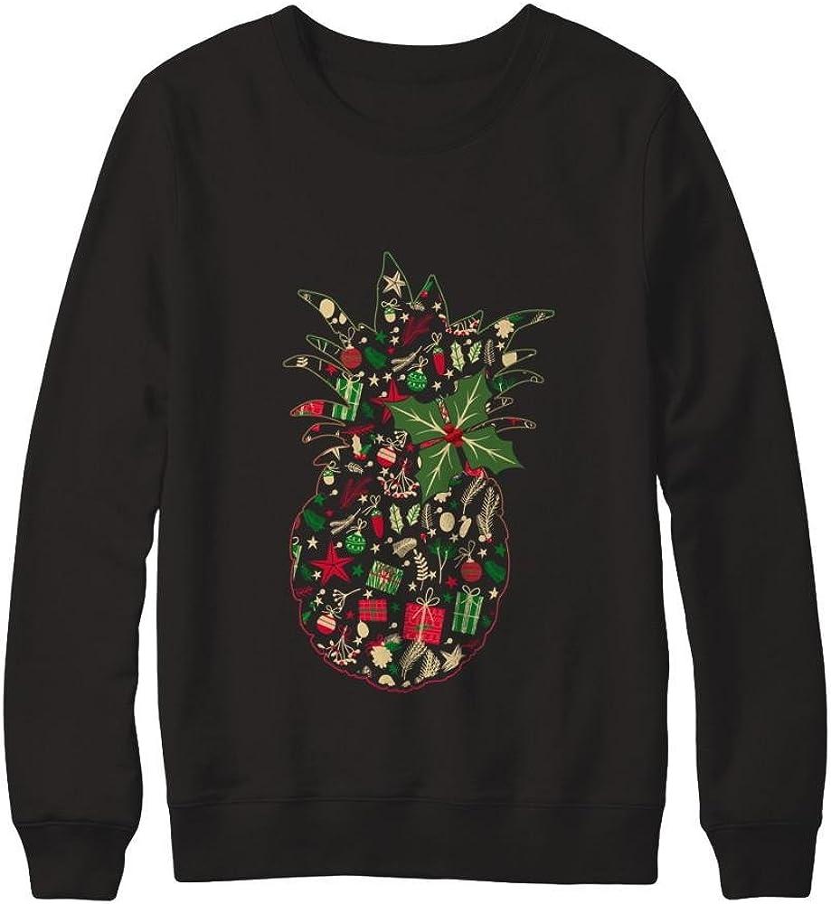 Teely Shop Women/'s Womans Pineapple Christmas Gildan Pullover Sweatshirt
