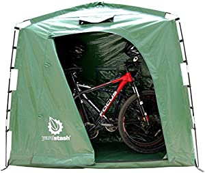 The YardStash IV: Heavy Duty, Space Saving Outdoor Storage Shed Tent by YardStash