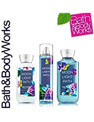 Bath & Body Works Moonlight Path Gift Set - All New Daily Trio (Full-Sizes)