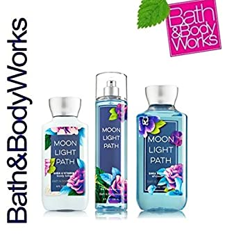 Bath Body Works Moonlight Path Gift Set – All New Daily Trio Full-Sizes