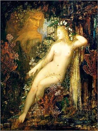 Posterlounge Hartschaumbild 60 x 80 cm: Galatea von Gustave Moreau