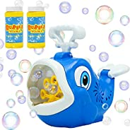 JOYIN Máquina de burbujas de ballena, soplador de burbujas automático, soplador de burbujas hace burbujas gran