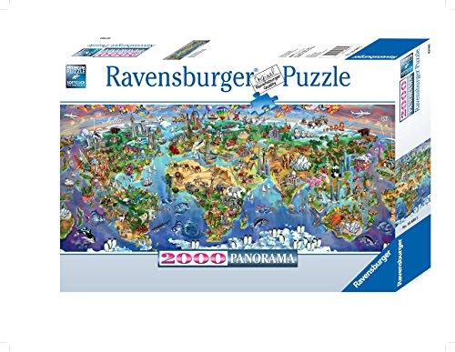 Ravensburger World Wonders Panorama Puzzle 2000 Piece Buy Usa Quality