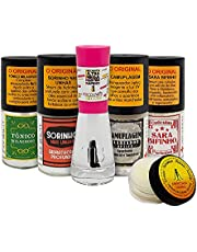 Kit de Fortalecedor de unhas e Secante hidrante Top Beauty