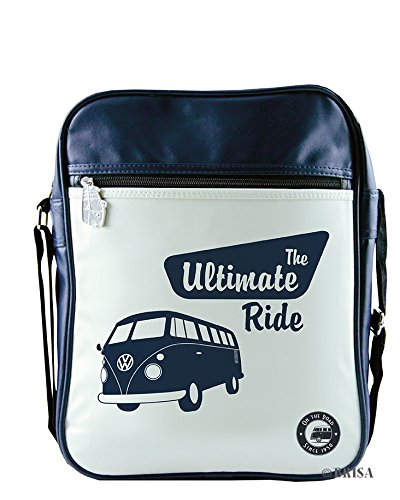 0c36b00d38 Amazon.com  VW Collection by BRISA VW T1 Bus Shoulder Bag Portrait - The  Ultimate Ride  Sports   Outdoors
